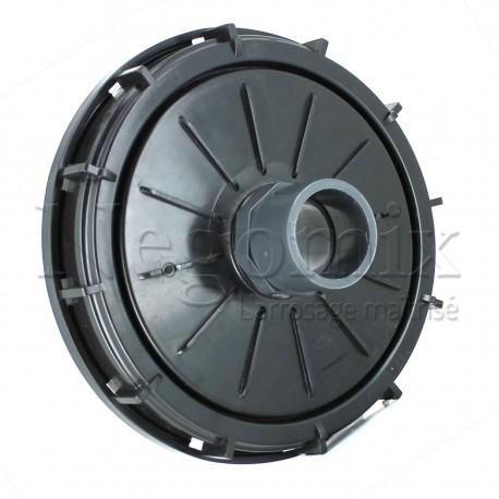 Couvercle 150 mm avec prise PVC 50/63
