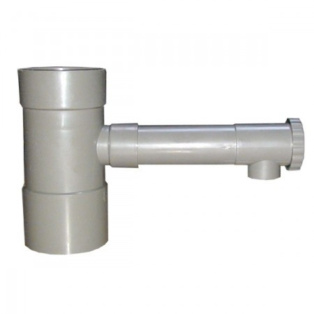 Collecteur gouttière 80 mm gris