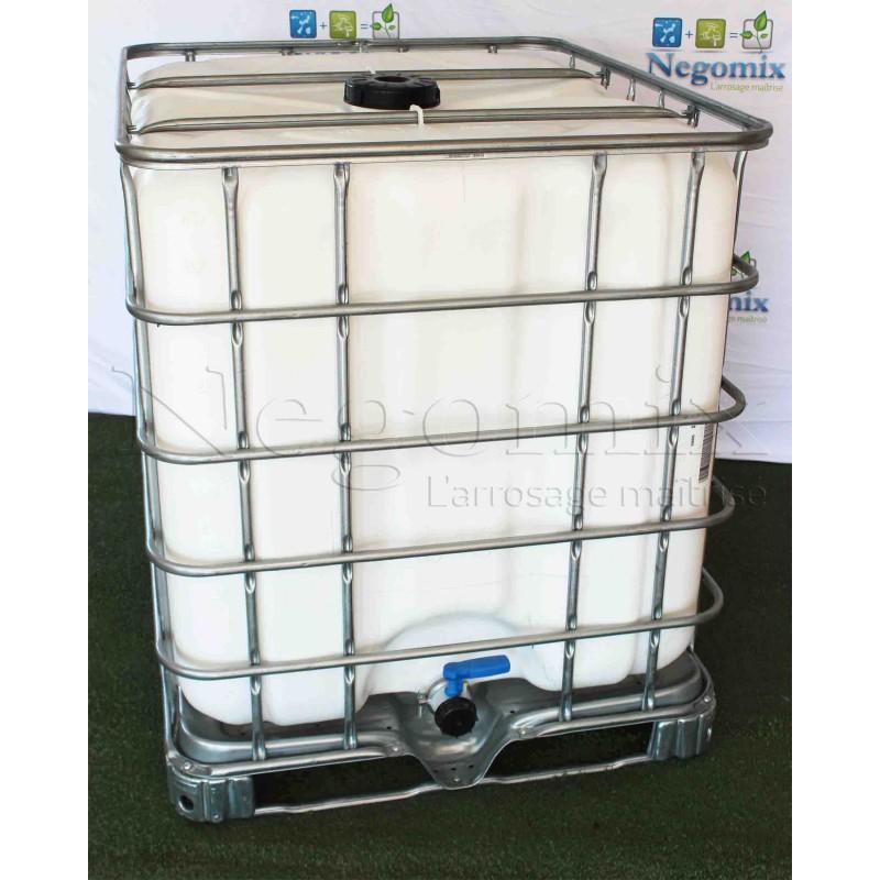 cuve citerne opaque de 1000 litres r cup ration eau pluie. Black Bedroom Furniture Sets. Home Design Ideas