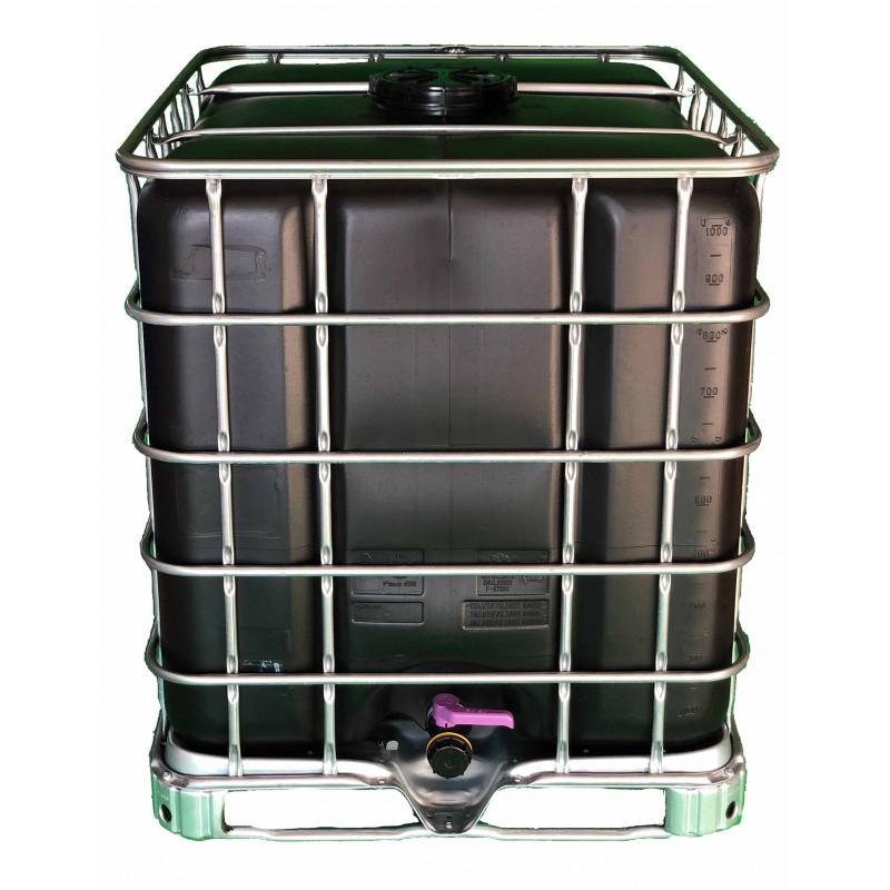 cuve de 1000 litres avec palette pour r cup rer l 39 eau de pluie. Black Bedroom Furniture Sets. Home Design Ideas