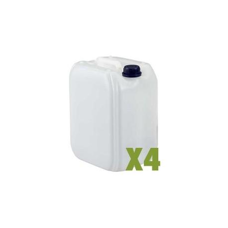 Bidon plastique 5L x4