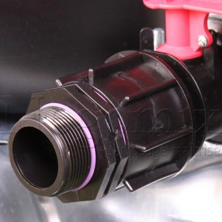 Adaptateur 1''1/2 mâle 40-49 mm
