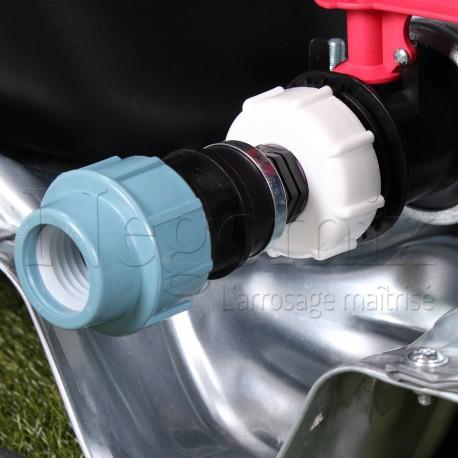 Adaptateur Droit PE 32 mm
