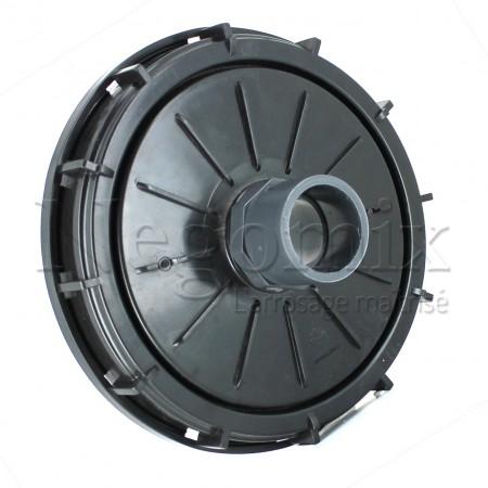Couvercle 220 mm avec prise PVC 50/63