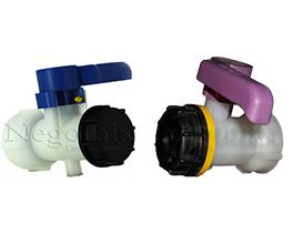-Ecrou arrière  58 à 60 mm (vissage sur la poche), en plastique moulé dans  la vanne 8b5ebefd2613